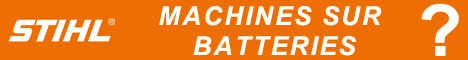 Stihl Machines sur batteries?